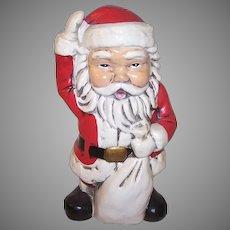 Vintage Made in Japan Santa Claus Bank