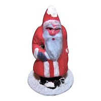Vintage Made in Germany German Christmas Putz Figure Santa Claus