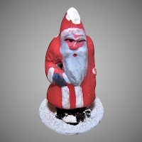 Vintage Made in Germany Putz Figure Santa Claus