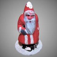 Vintage Made in Germany Putz Figure Santa Claus
