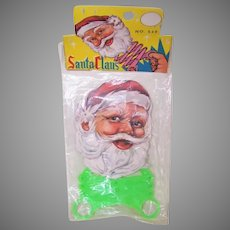 Mint in Package Santa Claus Finger Stretcher Toy