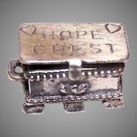 Beau Sterling Silver Charm Hope Chest
