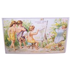 Angels Galore Celebrating the Warner Brothers Coraline Corset - Victorian Trade Card