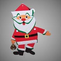 Vintage MIJ Santa Claus Jumping Jack