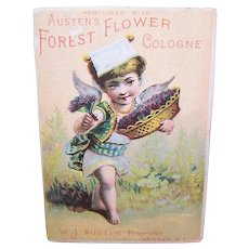 Austen's Forest Flower Cologne - Gypsy Angel Messenger - Victorian Trade Card