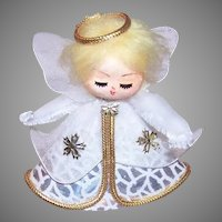 Vintage MIJ Christmas Ornament Angel