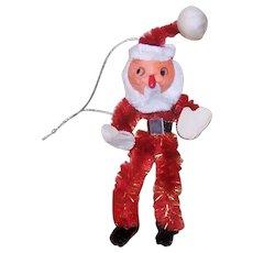 Vintage MIJ Spun Cotton Santa Claus Ornament