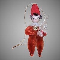 Made in Japan Spun Cotton Elf Ornament