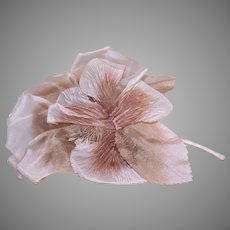 Vintage Made in Japan Millinery Fabric Flower