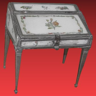 ** Early Miniature Secretaire  1860 **