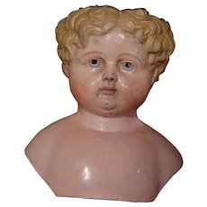 ** Large Blond Greiner Doll head ***