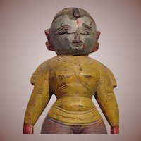 *** Wooden Tribal Doll India Parvati ***