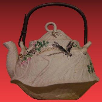 ** Japanese Banko clay Teapot 1900**