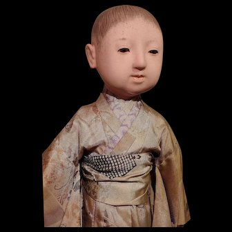 ** Japanese Gofun Doll 1900 **
