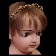 ** Large composition Doll Head  /Mannequin head 1880**