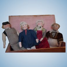 *** French Cloth Painted Dolls ***
