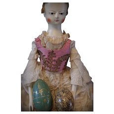 ** A Pair Of Wooden Eggs **