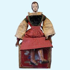 *** Early  Papier Mache Lowethal Doll 1840****