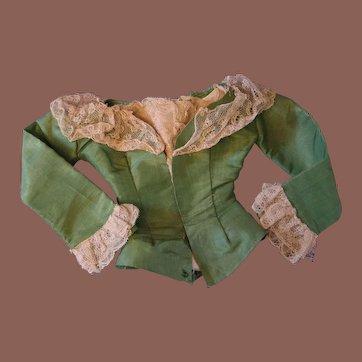 ** Early Tafta jacket For Lady Doll 1870**