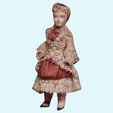 ** Lovely Dollhouse Miniatur Doll ** In Case