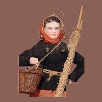 ** Francois Gaultier Fisherman Doll Souvenir ***