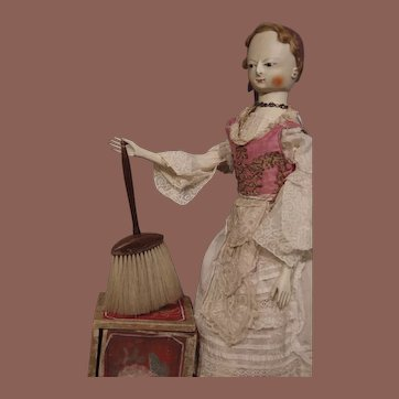 ** Cleaning Brush for your Dolls **/  Barber Brush