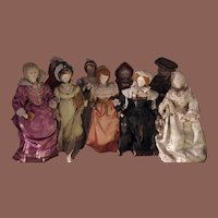*** Lovely Cloth Famous Ladies /Museum ***