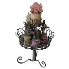 ** Dollhouse Flower Stand ***