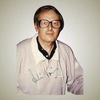 Conductor Andre Previn Autograph CoA