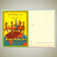 Attractive advertising Postcard by John Hopps & Son: Marsalla Classico ca. 1920: