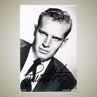 Charlton Heston Autograph CoA