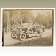 Vintage Photo of an Oldtimer