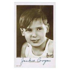 Jackie Coogan Autograph CoA