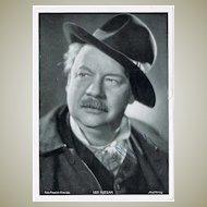 Leo Slezak Autograph on Photo plus Letter 1918