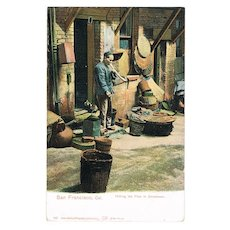 Chinatown vintage Postcard