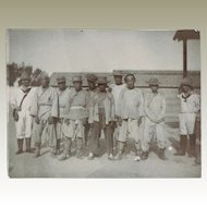 German Soldiers and Captives in Litsun China 1903