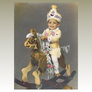 Very attractive Photo of an Indian Maharaja as Child