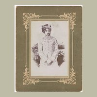 Maharaja Umaid Singh of Jodpur Cabinet Photo app. 1920