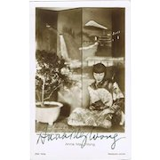 Anna May Wong Autograph on Ross Photo. CoA