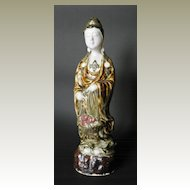 Porcelain Art Nouveau Figure Asian Lady, app. 1900
