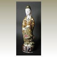 Porcelain Art Nouveau Figure Asian Lady, app. 1900