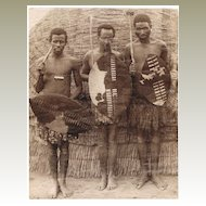 2 old African Photos, Zulu, Kenya
