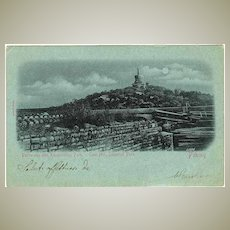 Old China: Coal Hill in Peking, 1901. Boxer Upraise.