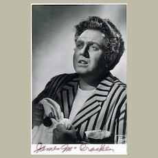James Mc Cracken Autograph on Photo. CoA