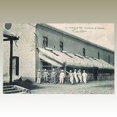 Old Tianjin Postcard Field Kitchen, 1913