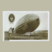 Zeppelin Photo Postcard LZ 127