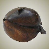 Antique Chinese Bronze Water Dropper for Artists