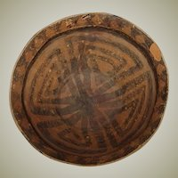 Chinese Neolithic Terracotta Bowl, 2500-1800 B.C.