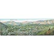 Panorama Postcard Mostar in Bosnia 1909