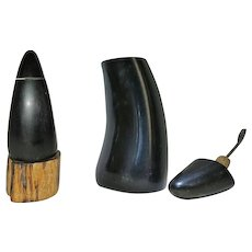 Unusual Chinese Snuff bottle Horn